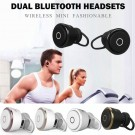 YUER Mini Wireless Bluetooth 4.1 Stereo In-Ear Headset Earphone Mic Dual Earbuds