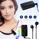 Clip-on Bluetooth 4.2 Wireless Sports Stereo Headset Earphone for Samsung iPhone