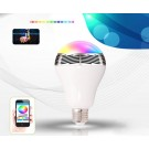 Bluetooth Speaker LED Night Light Bulb