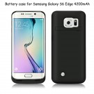 4200mah Backup Battery Charger Power Case Cover for Samsung Galaxy S6 /S6 Edge