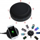 9in1 Charging Hub Station USB+Type-C+Wireless Charger Pad For iPhone