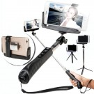 Extendable Wireless Bluetooth Shutter Selfie Monopod Stick for iPhone Samsung