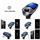 Bluetooth Car FM Transmitter Wireless Radio Adapter USB Charger For iPhone 6