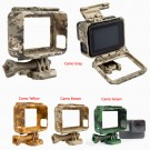 Gopro Housing Case Border Frame Mount For Gopro Hero 5 Camera Camo