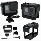 Aluminum Border Frame Mount Protective Housing Case Cage For Gopro Hero 5