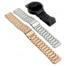 Stainless Steel Link Bracelet Watch Band Strap with Tool for Huawei Smart Watch