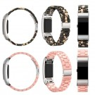 Acetate Plastic Watch Band Wrist Strap Link Bracelet For Fitbit Charge 2 Tracker