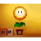 Kid's Bedroom Wallpaper Stickers 3D Wall Lamp