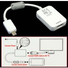 USB MHL To HDMI HDTV Cable Adapter