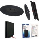 2 in 1 Universal Vertical Stand Carry Cradle Dock Holder For PS4 Pro