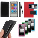 Durable TPU Belt Clip Case Cover Protective Skin For Apple iPod Nano 7