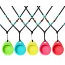 Beads Chain Necklace Holder for Misfit Flash Fitness Sleep Monitor