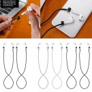 Leather Anti-lost Ear Loop Strap String Hang Rope Cord For Apple AirPods Pods