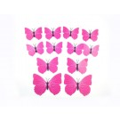 3D Butterfly Design Art Decal Wall Stickers Home Decor Room Decorations