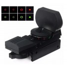Tactical Reticle Red Green Dot Holographic Sight Scope 20mm Rails 4 Type Reticle