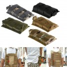 Tactical Hunting Airsoft Molle Single Rifle Pistol Magazine Mag Pouch Top Bag