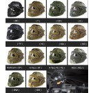 Airsoft Paintball Jump Tactical Fast Helmet w/Protective Mask Googles &G4 System