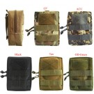 1000D Tactical MOLLE Zipper Pouch Accessory Waist Belt Bag Combat Vest Small Bag