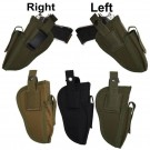 Tactical Molle Right & Left Hand Gun Pistol Holster w/Magazine Slot Holder Pouch