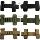 7 Round Rifle ButtStock Ammo Carrier Elastic Bullet Holder Tactical Hunting