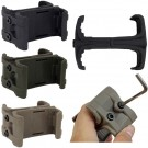 Tactical Double magazine ABS Link Clamp kit Mount Holder For PMAG Magazine