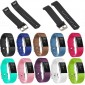 Silicone Wristband Band Strap Metal Buckle For Fitbit Charge 2 Bracelet