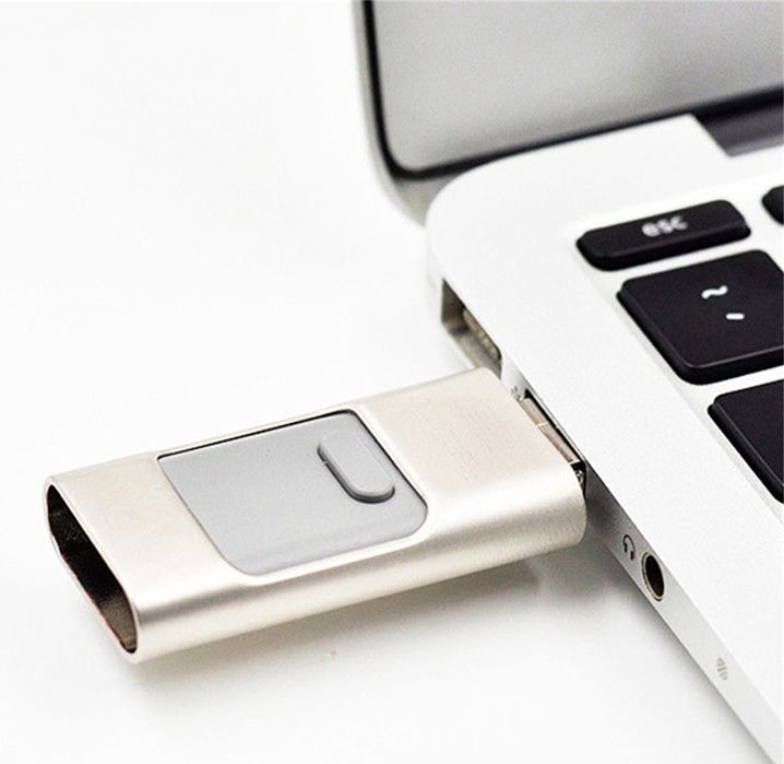 USB Flash Disk OTG Memory Stick Drive For iPhone 5 6 iPad Samsung