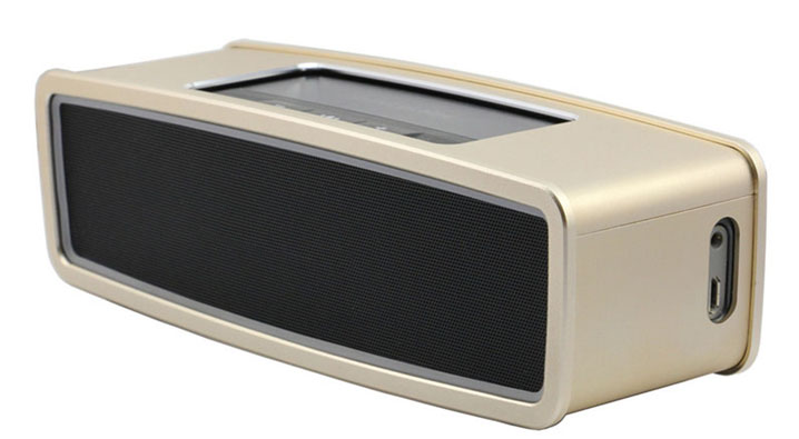 Aluminum Metal Skin Case Cover Protector for Bose SoundLink Mini & Mini 2 Bluetooth Speaker