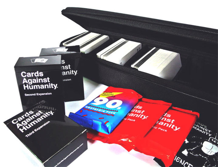 Travel Carry Storage Hard Case Box Bag for Cards Against Humanity Card Games