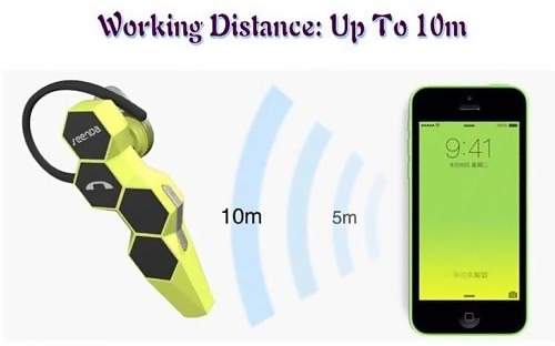 Bluetooth V4.0 Headset Call Voice Recognition