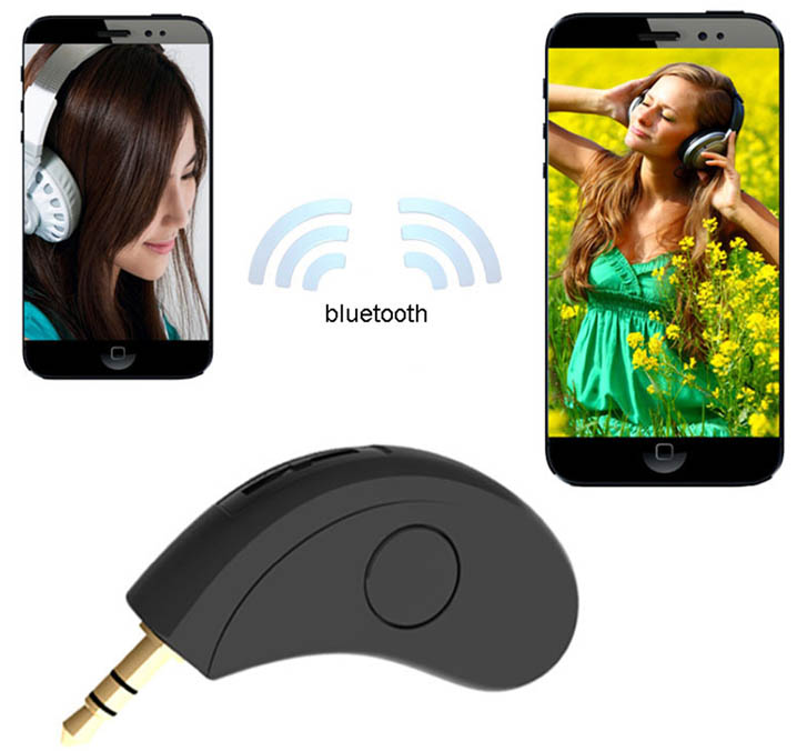 USB Wireless Bluetooth Stereo Audio Music Receiver Adapter Car Home AUX