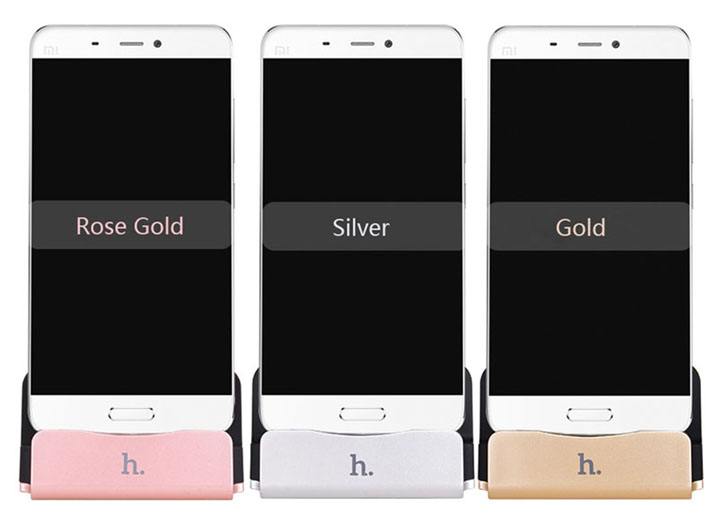 HOCO Aluminum Charging Cradle Dock Seat Data Sync For iPhone Android HUAWEI P9