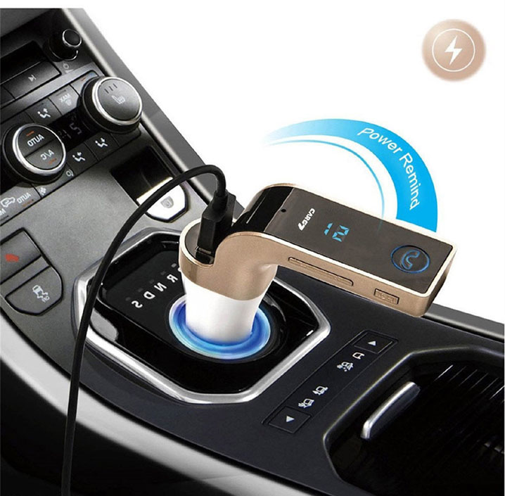 Bluetooth LED Car Kit FM Transmitter Radio MP3 Player Handsfree USB Charger