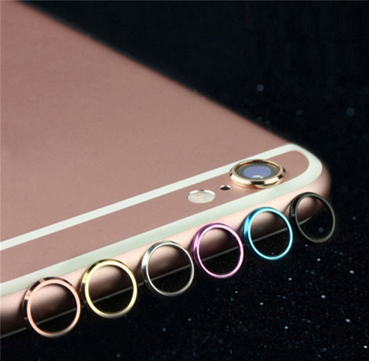 Rear Back Camera Lens Glass Cover Frame Holder Protector Ring Case For iPhone 7