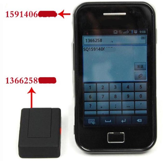 Global Locator Mini A8 Real Time Car Kids GSM/GPRS/GPS Tracker