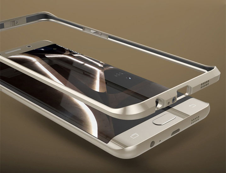 Aluminum Ultra-thin Metal Bumper Case Cover for Samsung Galaxy S6 Edge Plus