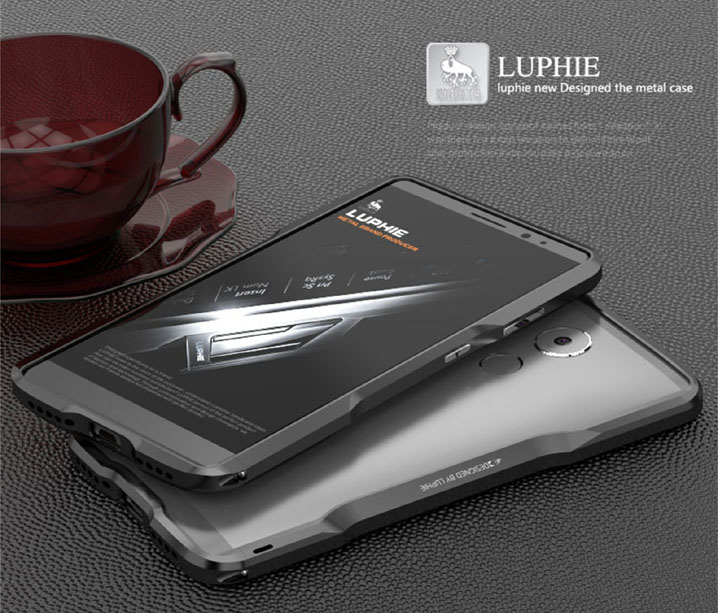Luphie Aluminum Bumper Metal Blade Case Cover for HUAWEI Mate 8