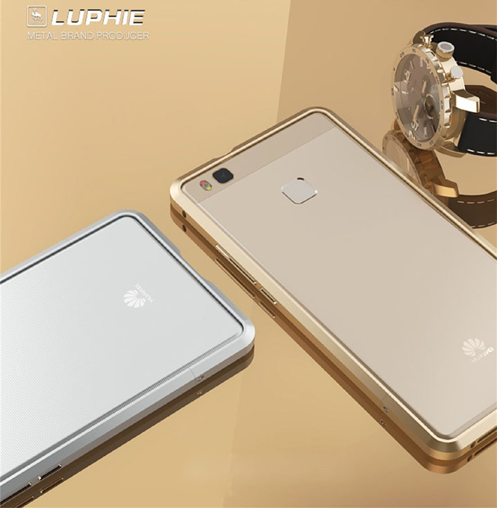 Luxury Ultra Thin Metal Aluminum Bumper Frame Cover Case For HUAWEI G9 Lite