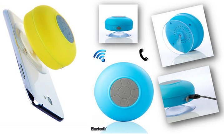 Mini Waterproof Wireless Bluetooth Speaker SHOWER POOL Car Handsfree mic