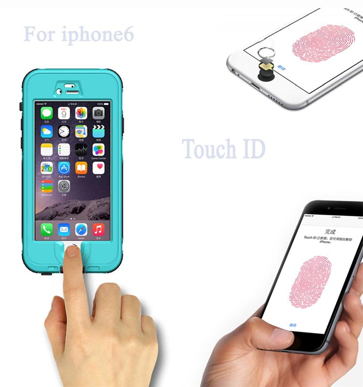 iphone 6 Waterproof Dust Case Cover
