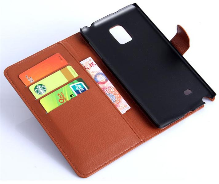 Leather Case For Samsung Galaxy Note Edge