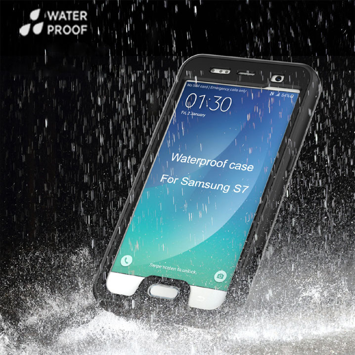Waterproof Shockproof Dust proof Case Cover for Samsung Galaxy S7