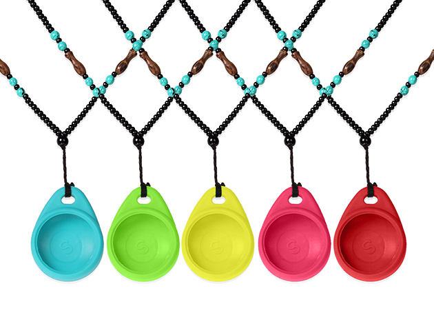 Beads Chain Necklace Holder for Misfit Shine Fitness Sleep Monitor