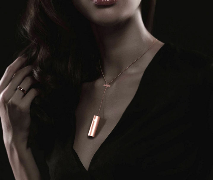 Fashion Stainless Steel Necklace Pendant Chain with Tool For Misfit RAY Tracker