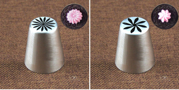 Russian Tulip Icing Piping Nozzles Cookies Cake Decoration Tips DIY Tool