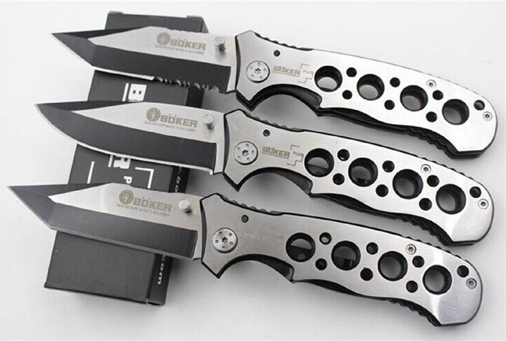 Tactical Foldable Outdoor Rescue Camping Pocket Knives Stainless Steel Hunting Swiss knife