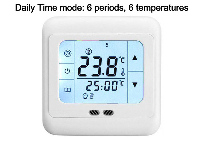 LCD Digital Programmable Thermostat Room Temperature Controller