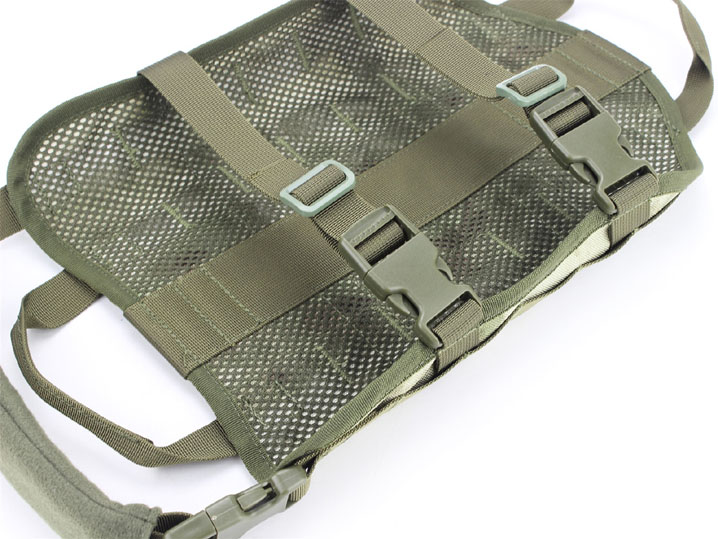 Military Tactical Molle K9 Police Service Dog Nylon Vest Harness